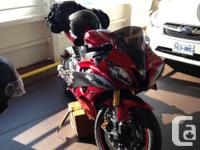 Unfortunately selling my 2007 Yamaha r6, this bike is a for sale  British Columbia