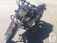 Very nice shape 2007 Yamaha Virago 250cc with 10,000km.