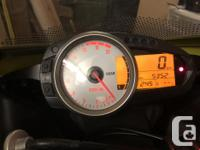 Make Kawasaki Year 2007 kms 5000 2007 zx6r Like new,