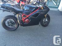 2008 Ducati 1098cc $14,000.00 OBO 10,xxx km Everything