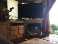 TRAVELING ONE BEDROOM HOME 60 inch smart TV
