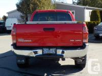 Make Toyota Model Tacoma Year 2008 Colour Radiant Red