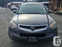 Make Acura Model RDX Year 2008 Colour Grey kms 207000