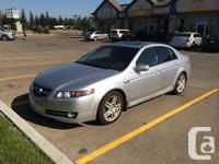 Make Acura Model TL Year 2008 Colour Silver kms 90000