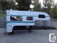Very clean 10' Adventurer Camper. Toilet / shower,