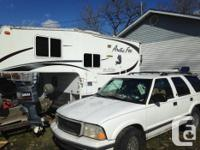 This four seasons camper is for an 8foot box loaded