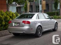 Make Audi Model A4 Year 2008 Colour Silver kms 82520