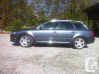 2008 Audi A4 Avant 2.0T Quattro  - black leather seats