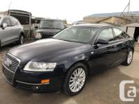 Make Audi Model A6 Year 2008 Colour Blue kms 138000