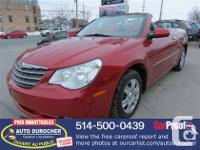 Marque : Chrysler     Modèle: Sebring