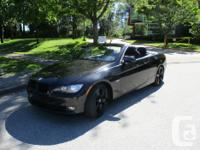 Make BMW Model 328i Cabriolet Year 2008 Colour BLACK