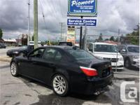 Make BMW Model 5 Series Year 2008 Colour Black kms for sale  British Columbia