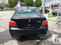 Used, Make BMW Model 5 Series Year 2008 Colour Black kms for sale  British Columbia