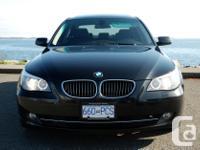 Make BMW Model 535 Year 2008 Colour Black kms 100000