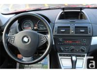 Make BMW Model X3 Colour red Trans Automatic kms