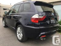 Make BMW Model X3 Year 2008 Colour Blue kms 113000