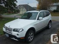 Woodstock, ON 2008 BMW X3 AWD This reliable and fun to