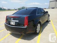 Make Cadillac Model CTS Sedan Year 2008 Colour Black