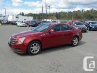 Make Cadillac Model CTS Year 2008 Colour Red kms for sale  British Columbia