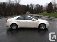 Make Cadillac Model CTS Sedan Year 2008 Colour White