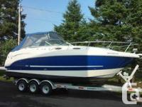 2008 Chaparral Cruiser. Bought new in 2009. All options