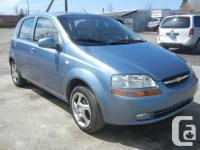 Make Chevrolet Model Aveo5 Colour Blue/Grey Trans