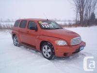 Make Chevrolet Model HHR Year 2008 Colour Orange kms