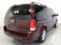 Make Chevrolet Model Uplander Year 2008 Colour red kms