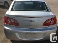 2008 Chrysler Sebring LX 187,000km Automatic Cloth