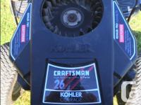 Craftsman 26.0HP Electric Start Automatic Transmission