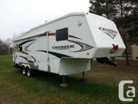 2008 Byroad Cruiser RL 28 ft. 5th Tire Trailer,1 / 2