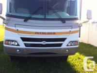 2008 Damon Intruder 38ft Class-A Motorhome. This