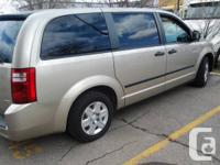 Hi There:  I am selling my Dodge Caravan. 2008.