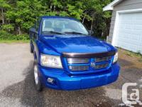 Make Dodge Model Dakota Year 2008 Colour Blue kms