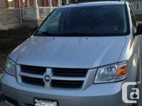 2008 DODGE GRAND CAMPERS SE, 115k, Silver Color