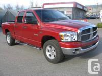 OFFERED Available For Sale IS A 2008 DODGE RAM 1500 4X4