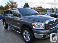 2008 Dodge Ram 1500- 4WD with 5.7L V8 Engine and Low Km