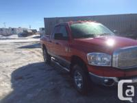 Make Ram Model 2500 Year 2008 Colour Red kms 159080