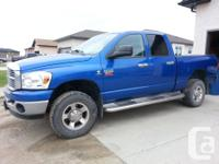Make Dodge Model Ram 2500 Year 2008 Colour Bue kms