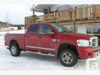 Williams Lake, BC 2008 Dodge Ram 3500 Laramie This