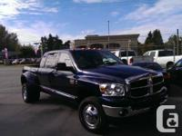 --- 2008 DODGE RAM MEGA CAB DUALLY CUMMINS 4X4 ONLY
