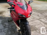 Make Ducati Year 2008 kms 17311 17311kms, dry use only,