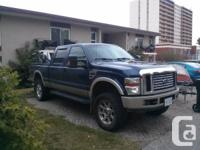 This is a 2008 6.4 L twin turbo V8 powerstroke diesel