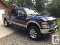 Make Ford Model F-350 Year 2008 Colour Blue kms 100000