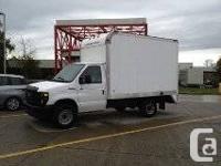 2008 Ford E350 Box truck / CubeVan / Cutaway Van, 11Ft