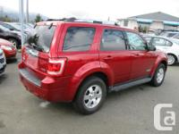 Make Ford Model Escape Year 2008 Colour red kms 143000