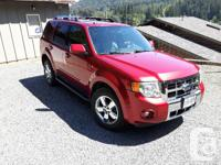 Make Ford Model Escape Year 2008 Colour Metallic red
