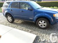 Selling my 2008 Ford Escape XLT V6.  It is in great
