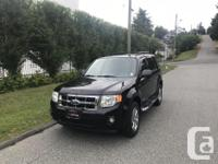 Make Ford Model Escape Year 2008 Colour BLACK kms