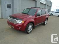 Make Ford Model Escape Year 2008 Colour Red kms 126200